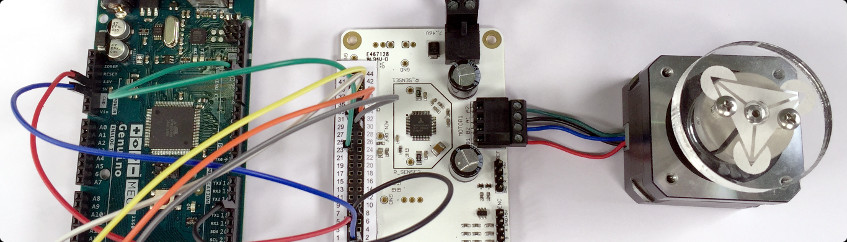 How to drive a stepper motor with your Arduino Mega using a